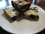 Peanut butter oreo brownie is my take on Danielle's recipe.