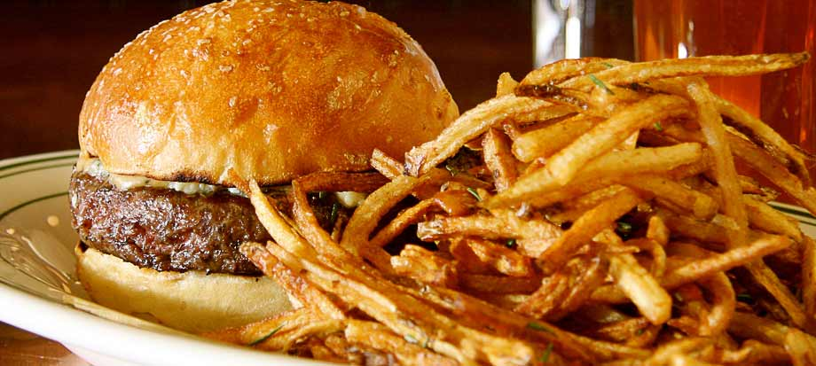 This beautiful burger image is taken from The Tavern on Brady's ...