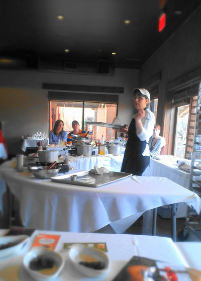 Chef Sarah Leavell from The Canebrake