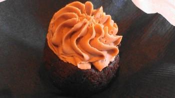 Chef Sarah's mini cupcake.