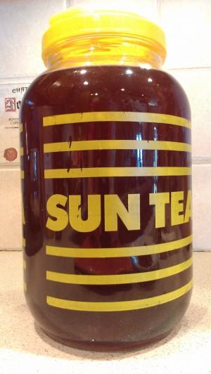 My vintage sun tea jug.