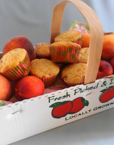 Peach Jam Muffins from Eliot's Eats