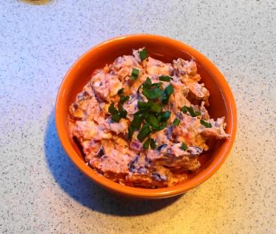 Dried Tomato and Feta Spread