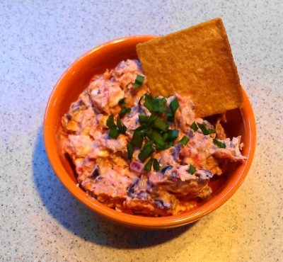 Dried Tomato and Feta Spread from Eliot's Eats