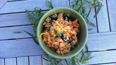 Bulgar Carrot Salad from Eliot's Eats