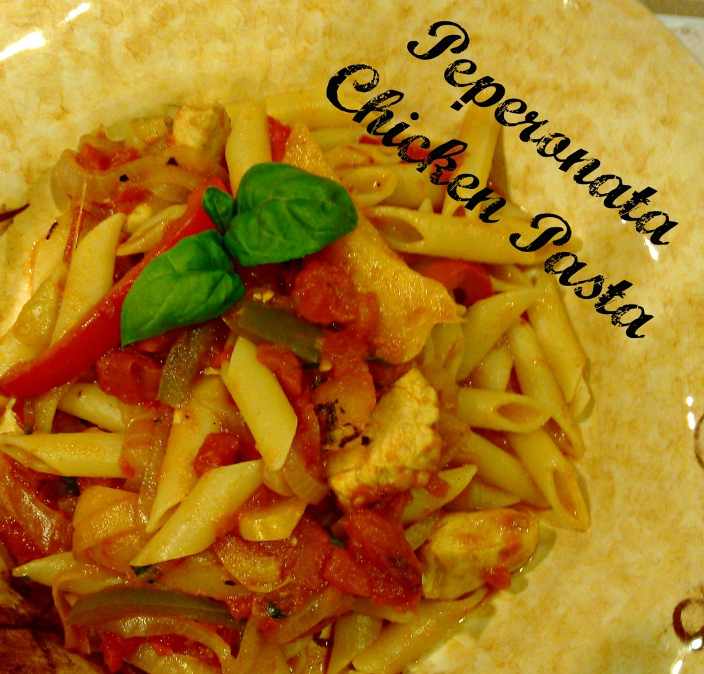 Peperonata Chicken Pasta