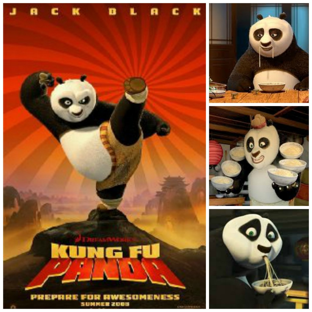 kung fu panda collage