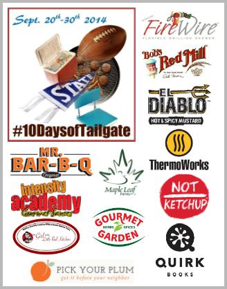 #10DaysofTailgate Sponsors