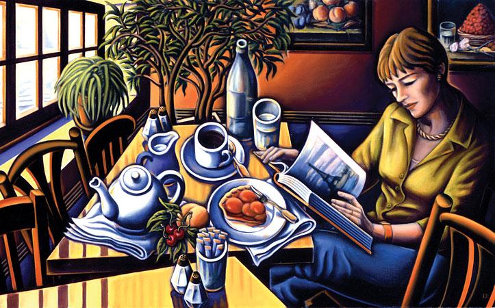 PARIS, 2003, oil on canvas (Bascove)