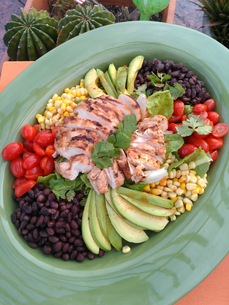 Spicy Southwest Chopotle Chicken Salad
