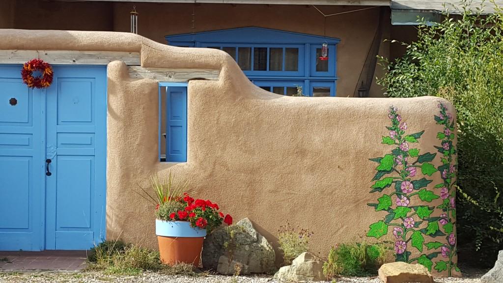 A casita in Rancho de Taos, NM.