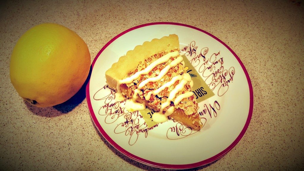 Lemon Pecan Tart from Eliot's Eats
