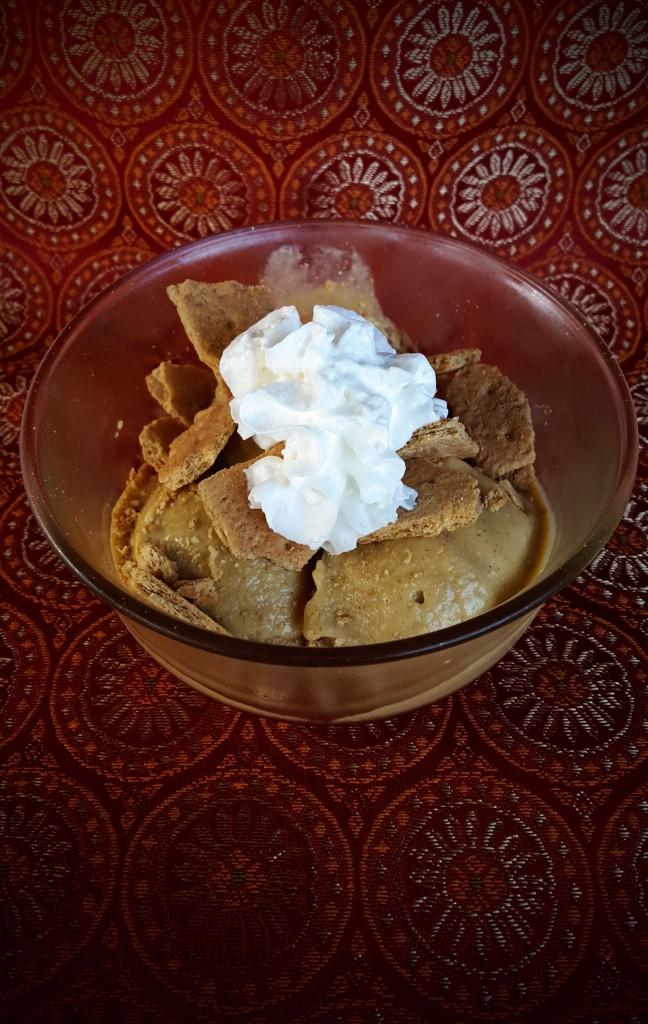 Pumpkin Pie Ice Cream Sundaes from Eliot's Eats