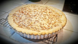 Lemon Pecan Tart from Eliot's Eats