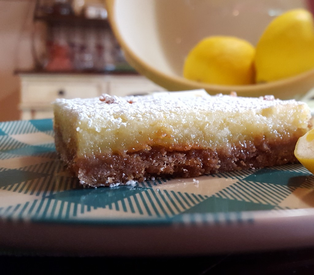Meyer Lemon Bars from Eliot's Eats