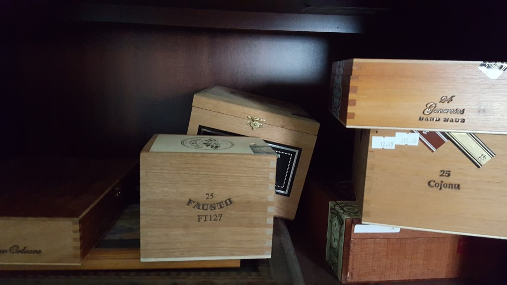 Cigar Boxes (Eliot's Eats)