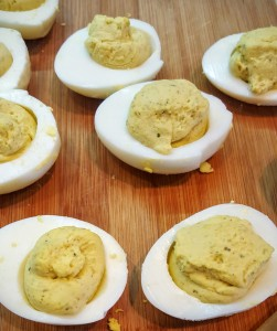 Deviled Eggs with Sikil Pak from Eliot's Eats