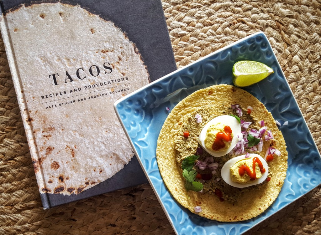 Deviled Egg Tacos from Eliot's Eats