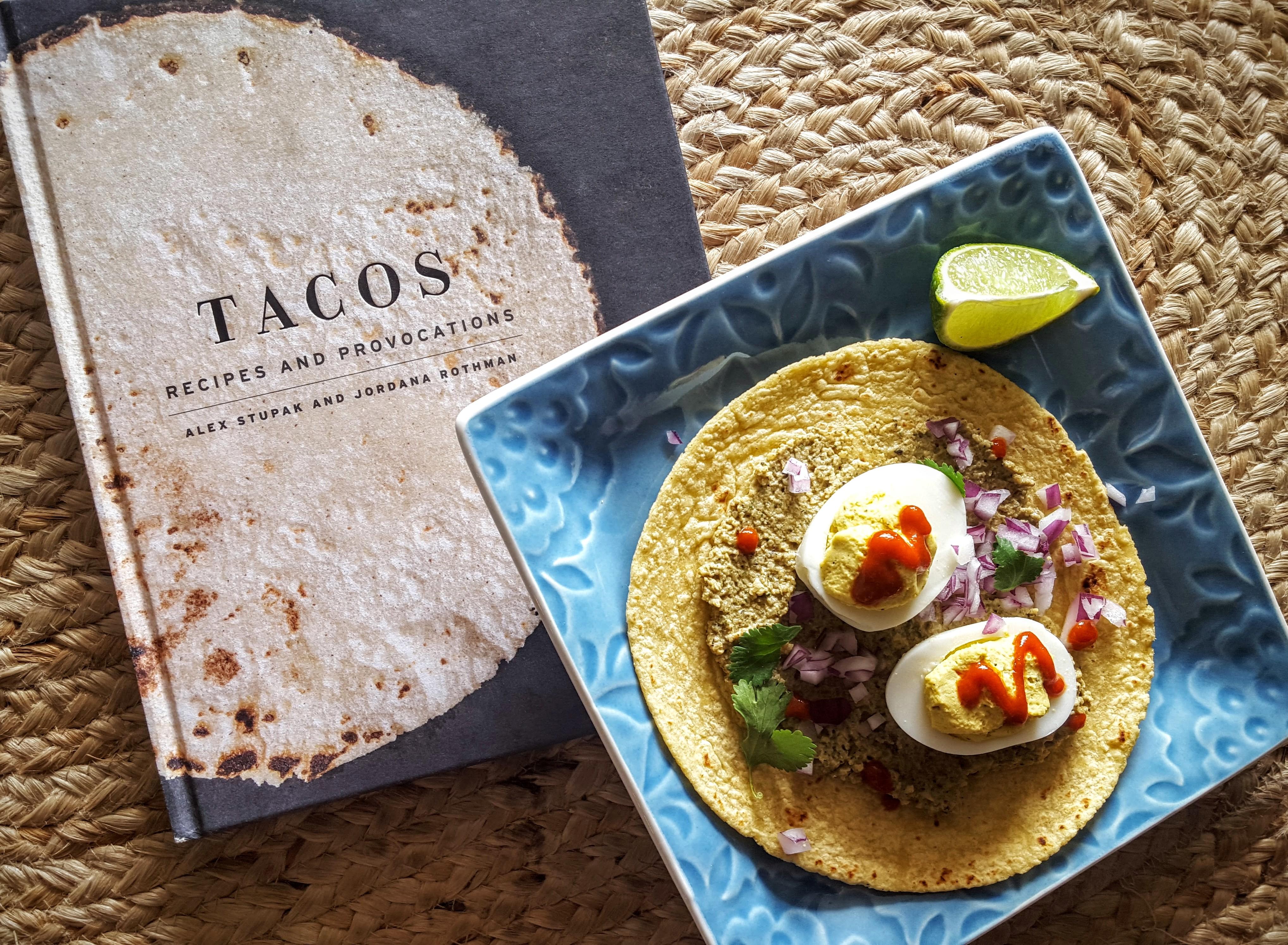 Deviled Egg Tacos With Sikil Pak Eliot S Eats