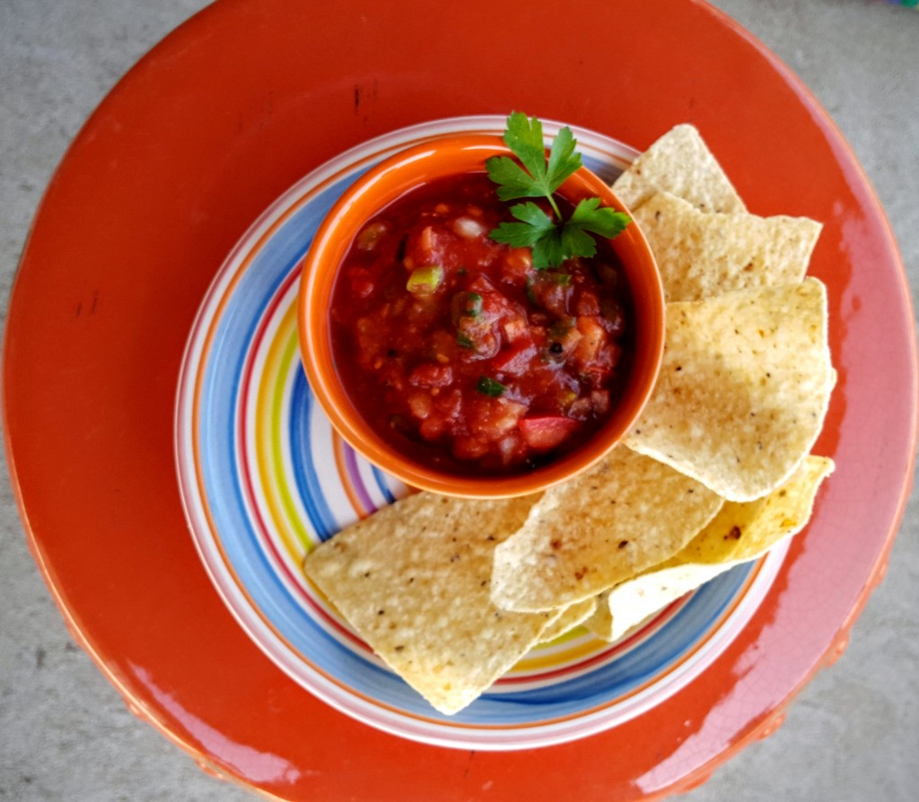 Restaurant Style Salsa from Eliot's Eats