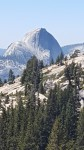 View of Half Dome from Olmstead point.