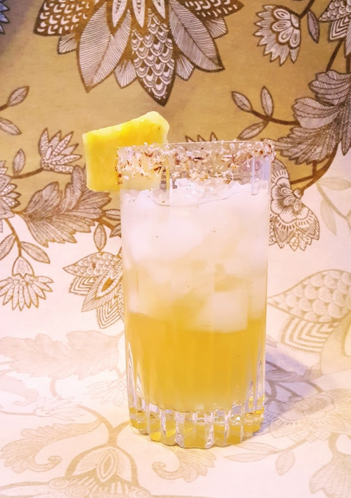 Pineapple Confit Cocktail