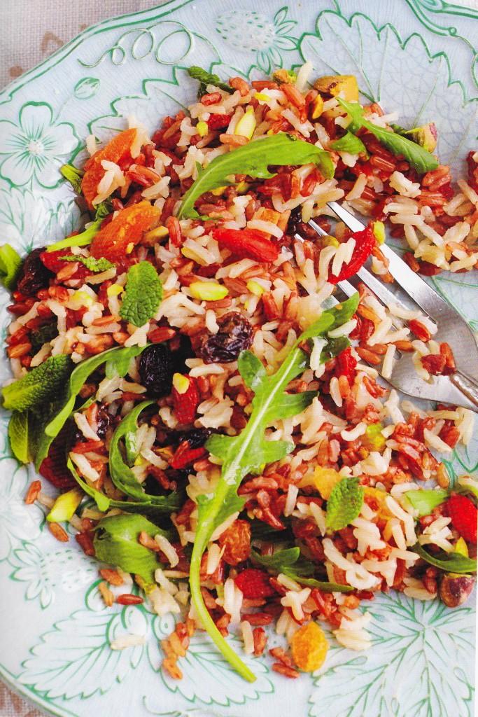 Wild Rice Salad (Wendy Rowe)