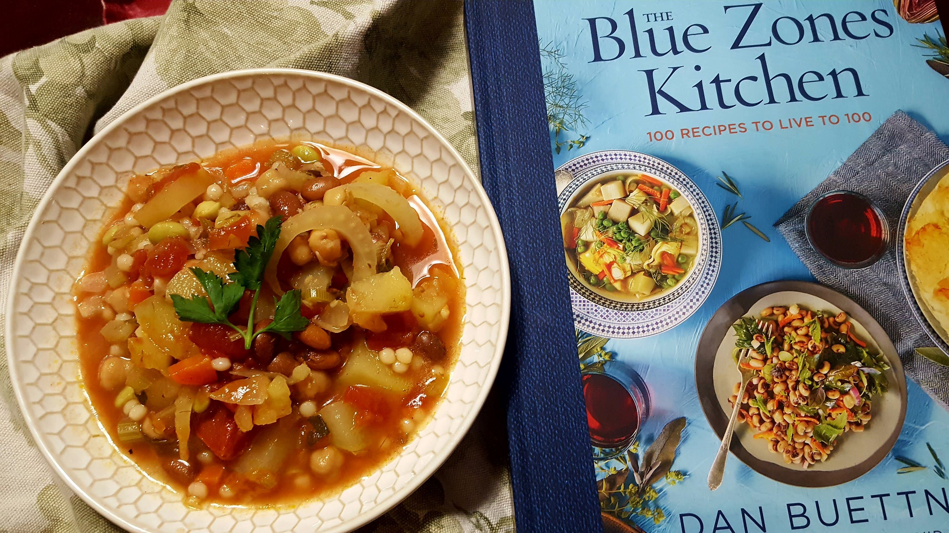 Healthy Minestrone Welcome To The Blue Zone Eliot S Eats