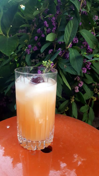 A Touch of Magic Cocktail to Beat Thyme